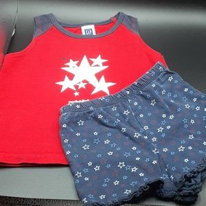 Patriotic Baby Gap Matching Set